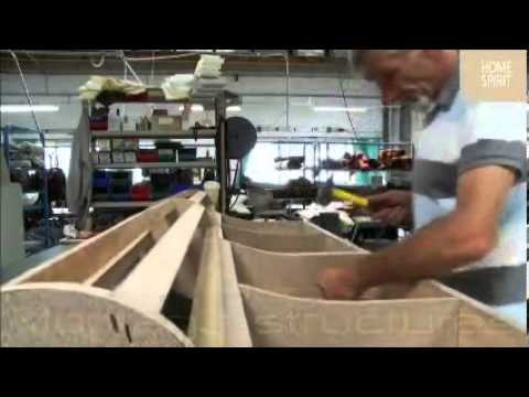 Fabrication d 39 un canap gold home spirit youtube for Sofa lit cuir