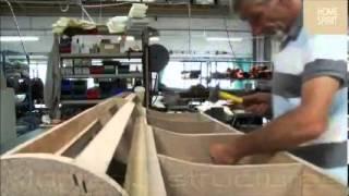Fabrication d'un canapé GOLD Home Spirit
