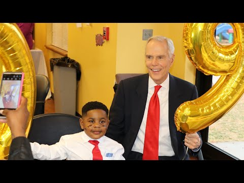 4-year old's birthday wish comes true, thanks to attorney George Sink