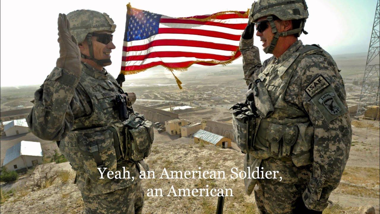 American Soldier - w/ Lyrics - YouTube