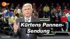 das aktuelle sportstudio: Die Pannensendung aus dem Jahr 1986     ZDFsport