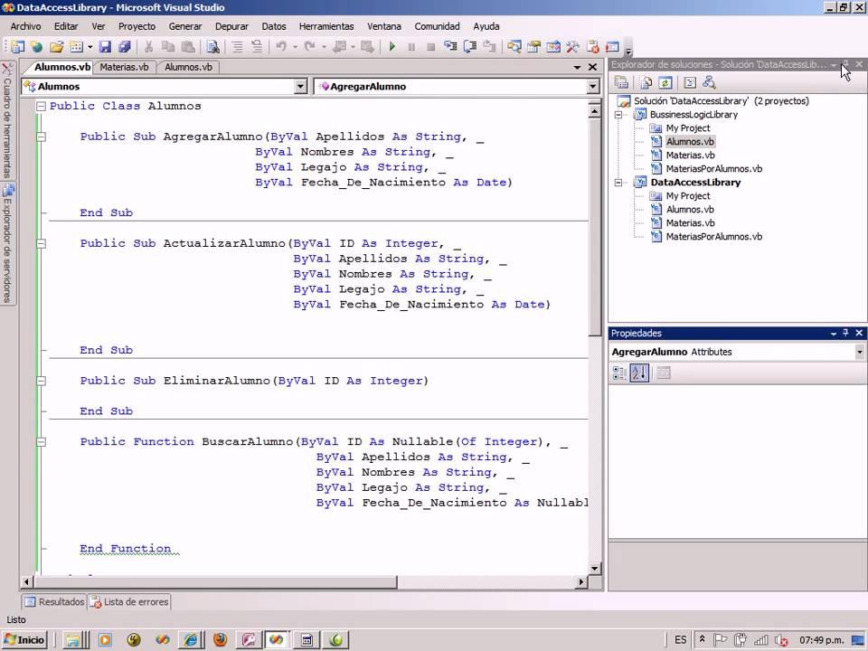 Arquitectura de software programaci n en 3 capas parte 7 for Arquitectura de capas software