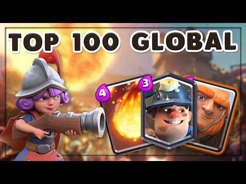 TOP 100 LADDER PUSHING WITH BEST F2P DECK! — Giant Double Minions | Clash Royale