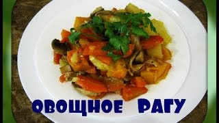 Овощное рагу./vegetable stew/.