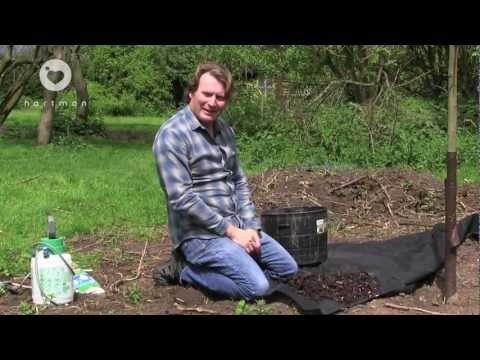 Stop and block weeds in the garden tips to keeping down weeds