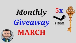 (ENDED) Monthly GIVEAWAY March   Low Budget Gaming