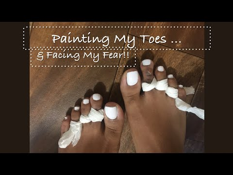 VLOG| Painting My Toes & Showing My Feet In Public