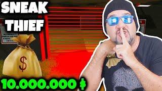 10.000.000 DOLAR ÇALIP NÜKLEER FÜZE FIRLATTIK!  (İMKANSIZ BÖLÜM) | SNEAK THIEF NUCLEAR
