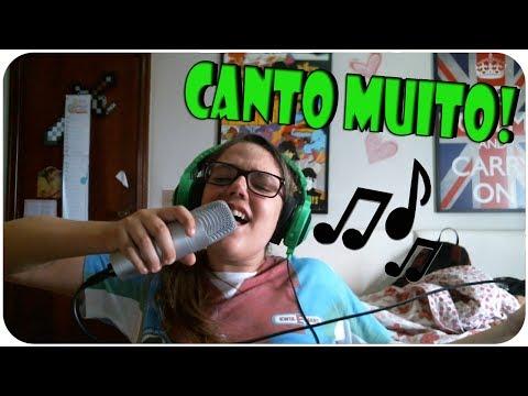 KARAOKE PARTY COM INSCRITOS - CANTO MUITO!