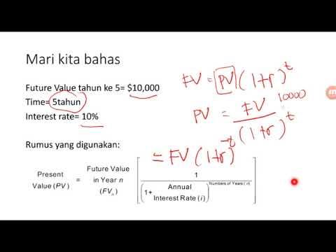 Seri Manajemen Keuangan (1) Present Value – Basic