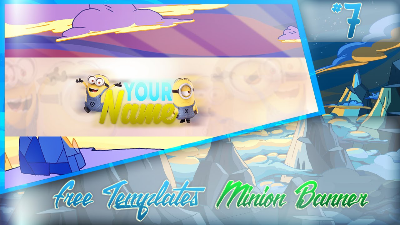 Free Templates Minion Template Youtube