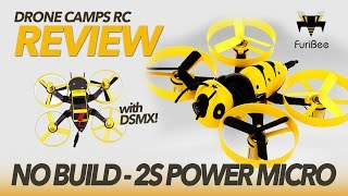 2S POWER - FuriBee F90 Wasp Micro - Flight, Review, Setup