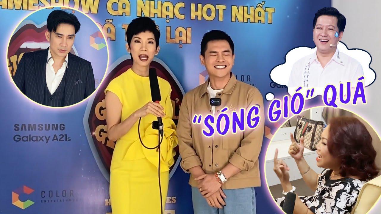 """Trường Giang cảm thấy đầy """"SÓNG GIÓ"""" khi thấy Xuân Lan và Nam Trung trong hậu trường GAGA 5"""