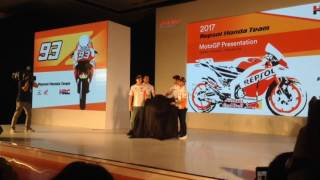 Launching Honda RC213V, CBR250RR Repsol Edition, CRF1000L Africa Twin, and CRF250Rally