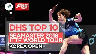 DHS ITTF Top 10 - 2018 Korea Open