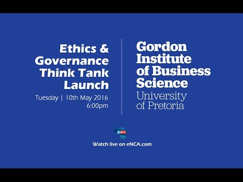 GIBS Ethics and Governance think tank launch