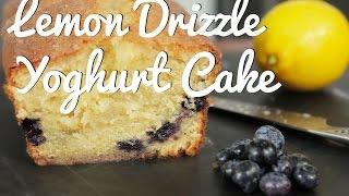 lemon drizzle yoghurt cake crumbs