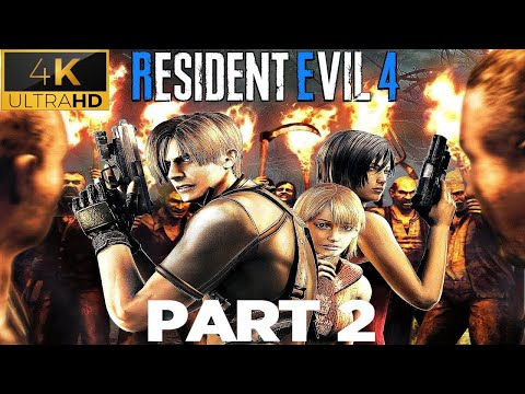 VU TV Gameplay Resident Evil 4 Ultimate HD Edition Part-2 Chapter 1-2 (Full Game) 4K 60FPS  