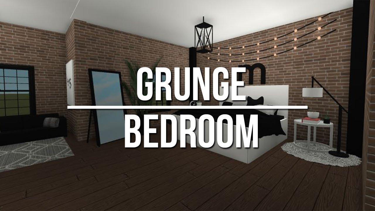 Roblox studio speed build grunge bedroom bathroom for Dining room ideas bloxburg
