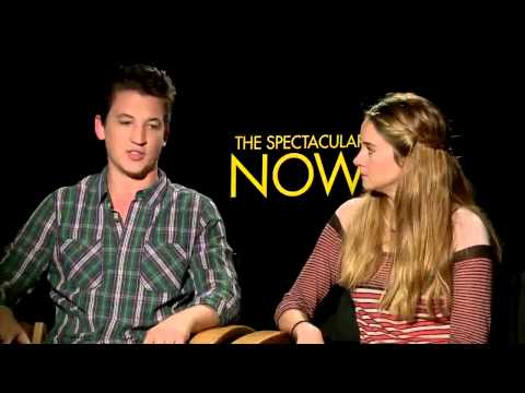 Interview: Miles Teller & Shailene Woodley from Spectacular Now