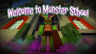 Minecraft Monster School - WELCOME TO MONSTER SCHOOL