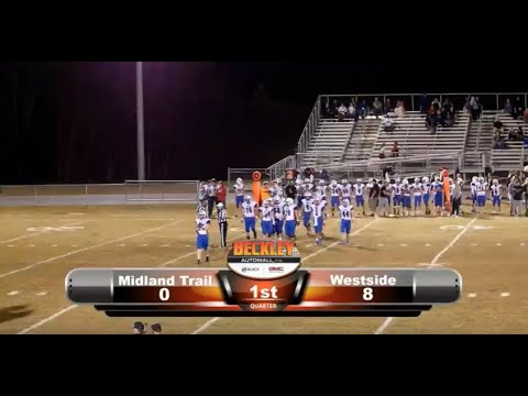 Midland Trail VS Westside (2019 Football Game)