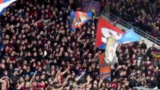 12.04.2018 ЦСКА - Арсенал. Фанатская трибуна