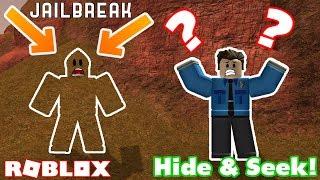 THE ULTIMATE HIDING SPOT!! - Roblox Jailbreak Hide and Seek Challenge Ep5