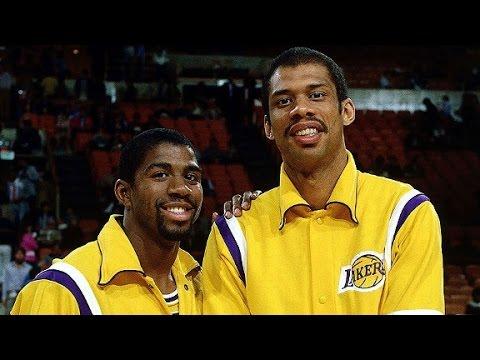 NBA Greatest Duos: Magic Johnson & Kareem Abdul-Jabbar vs Mavericks (1982)