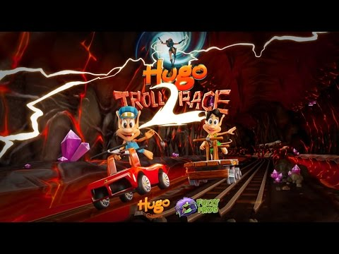 Hugo Troll Race 2 (by Hugo Games A/S) - iOS / Android - HD Gameplay Trailer
