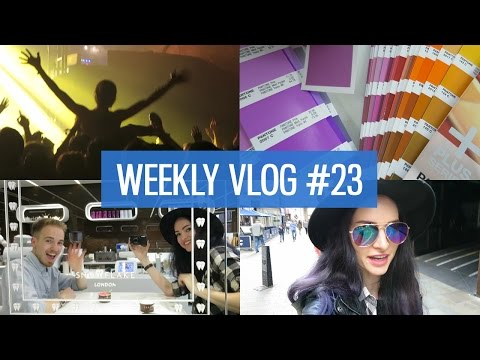 Weekly vlog 23: Work party and MUSE SECRET SHOW! | CharliMarieTV