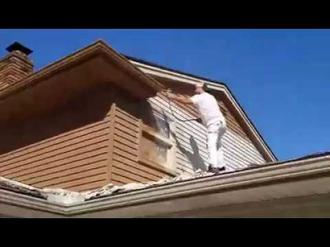 Strongsville, Ohio Aluminum Siding Refinishing Project