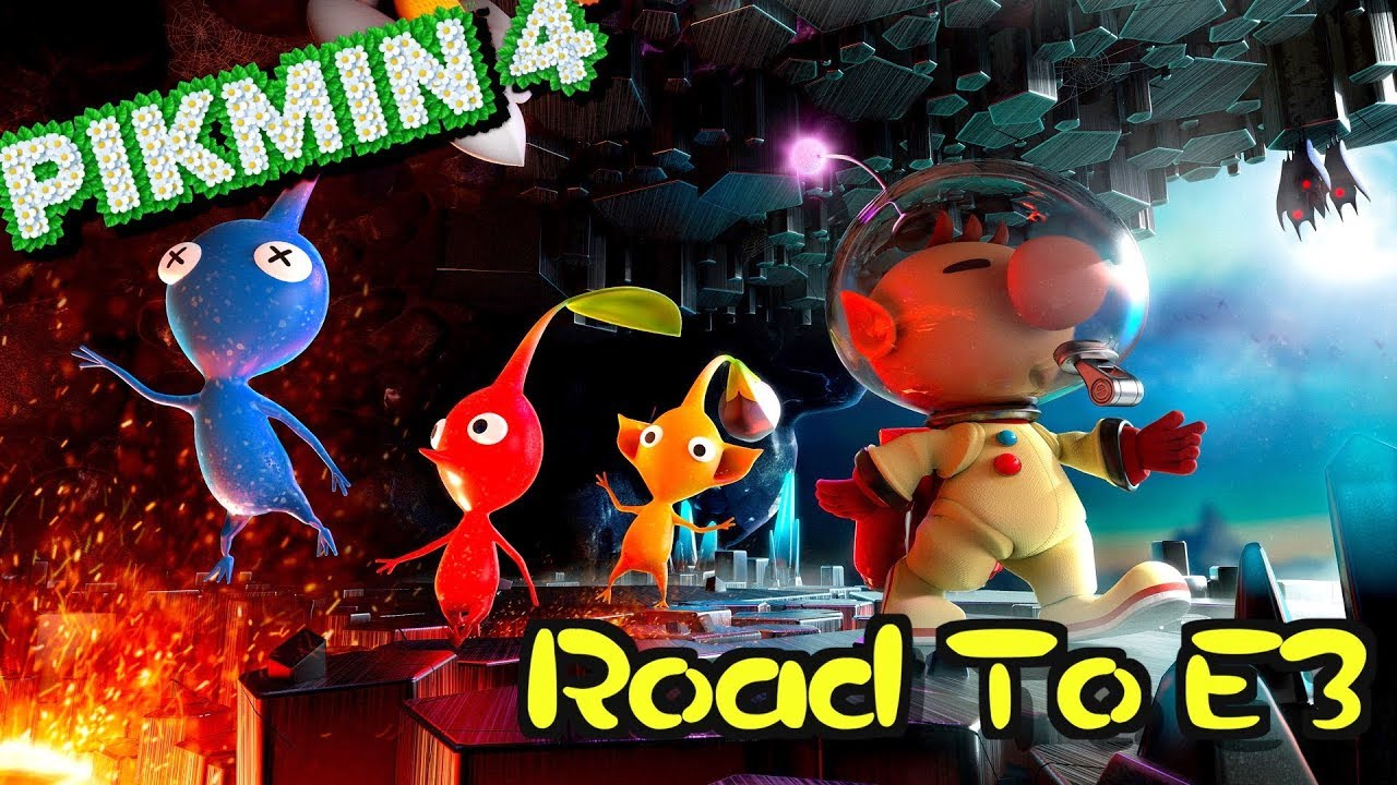 The Pikmin 4 Reveal Road To E3 2019 Youtube