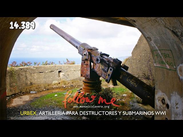 Artillería para destructores y submarinos WWI
