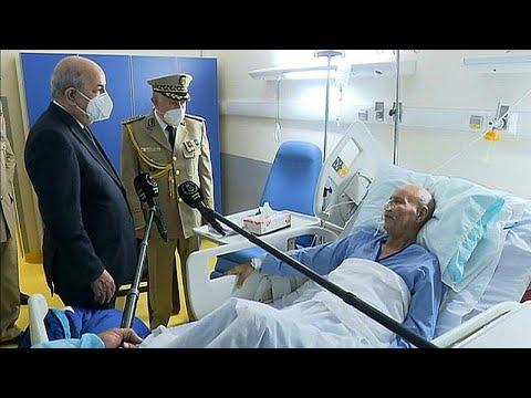 تبون يزور زعيم بوليساريو في المستشفى بعد عودته من إسبانيا.. ما الذي تريده الجزائر من الزيارة؟…