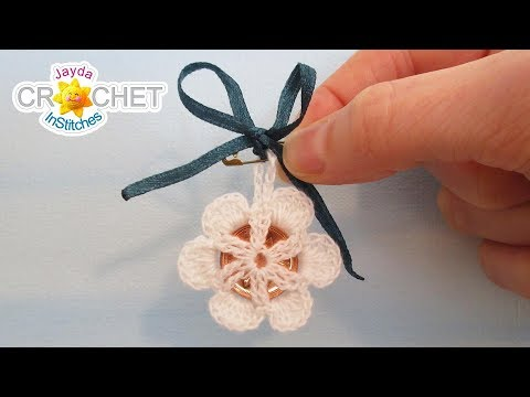 The Bride's Lucky Penny Charm – Crochet Wedding Lace