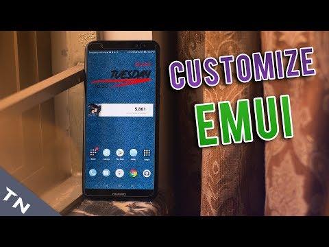 How To Customize Huawei EMUI Themes [English] - YouTube
