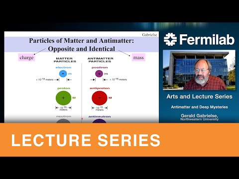 Antimatter and other deep mysteries – Public lecture by Dr.