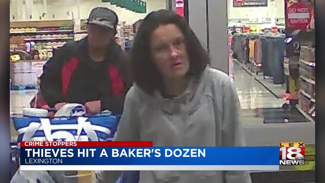 Crime Stoppers: Thieves Hit A Baker's Dozen