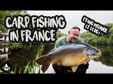 CARP FISHING IN FRANCE - ETANG MEUNIER - LÉ VLOG 1