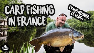 CARP FISHING ETANG MEUNIER LÉ VLOG 2018 - FULL MOVIE