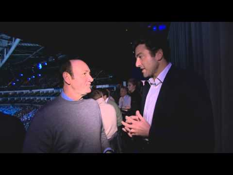 Kevin Spacey On Murray, Tennis & Acting At Final Showdown