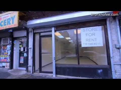 Large 750 Sq Commercial Store for Rent at Jerome Avenue and Cross Bronx Expressway