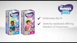 Huggies Nappy Pants New Product Watch