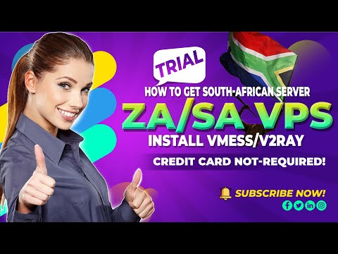 How to get ZA South African VPS Server - No CC needed Easy Steps