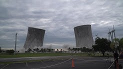 Florida Cooling Towers Simultaneously Imploded