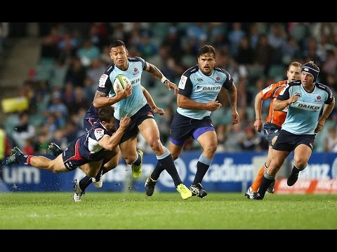 ROUND 13 HIGHLIGHTS: Waratahs v Rebels