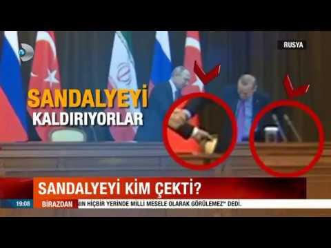 Putin Erdoğan'ın Sandalyesini İtti Düşürdü .