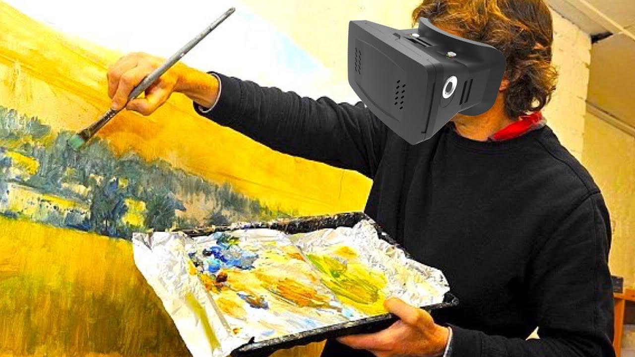 comment faire une oeuvre d 39 art en r alit virtuelle youtube