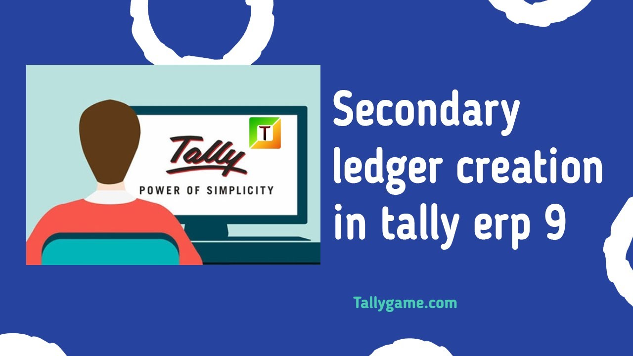 Secondary Ledger Creation , Create Ledger From Voucher Screen   YouTube  Create Voucher